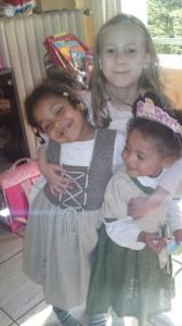Josie, Tara und Sophie
