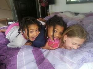 Sophie, Josie und Tara