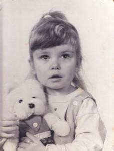 Maria mit Bär